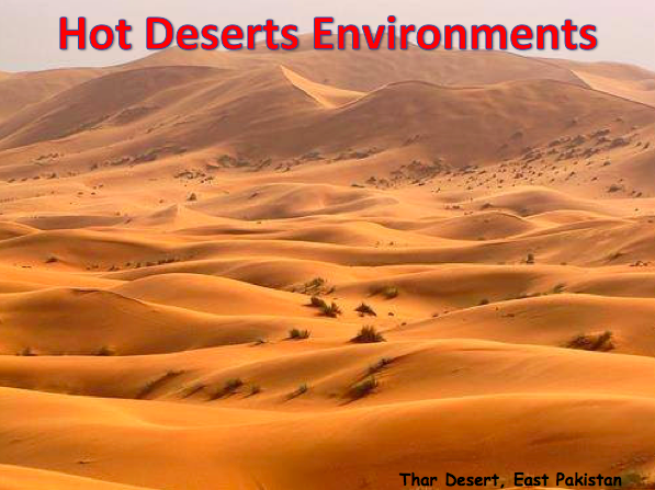 KS3 GEOGRAPHY SOW - Deserts BUNDLE