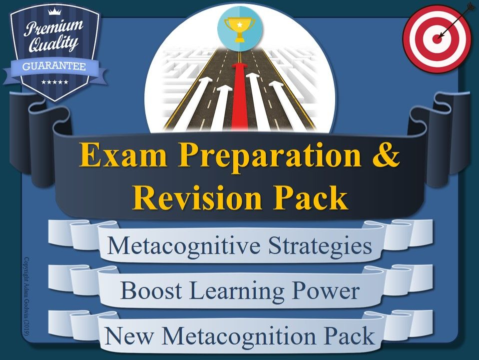 Metacognition Tools for Exam Preparation & Revision