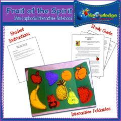 Fruit of the Spirit Mini-Lapbook