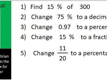 Basic skills maths starters Level 4 of 6: Fermat