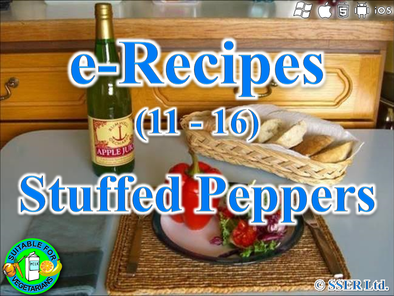 56.   Stuffed Peppers (e-Recipe)