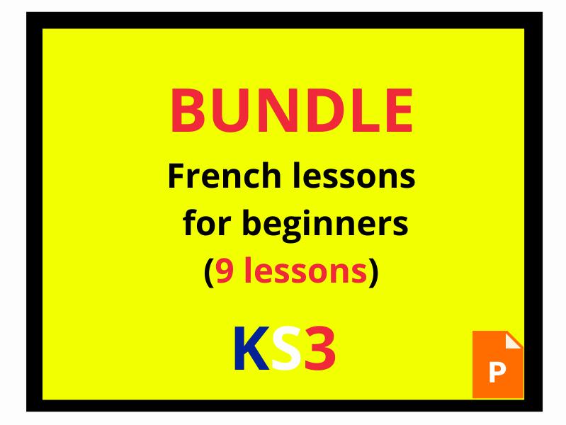 French  beginners KS3