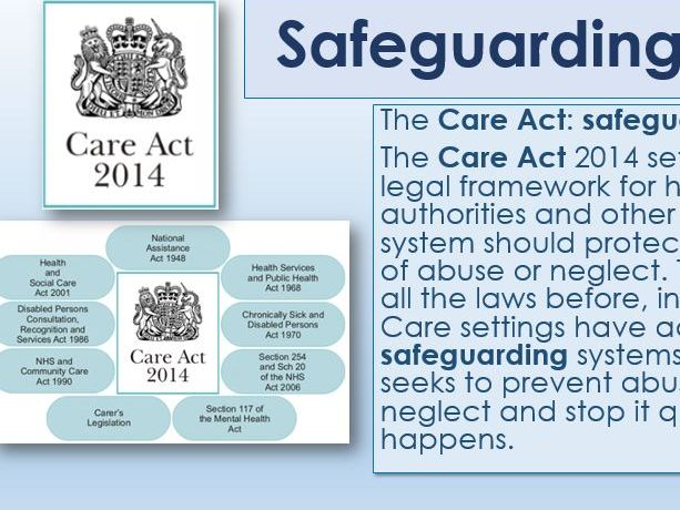Care Value – Safeguarding and Duty of care (adaptable to suit need)