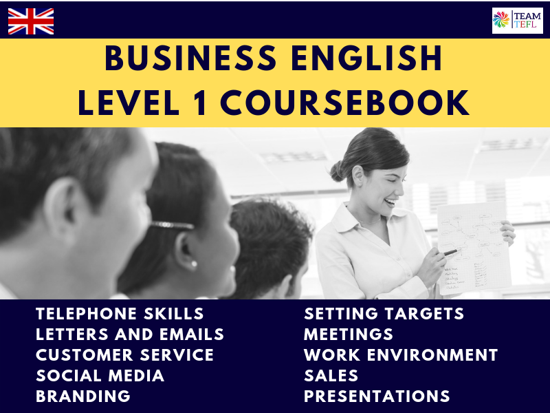 Business English Level 1 Coursebook For ESL