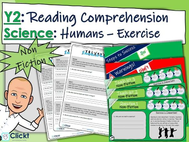 Year 2 Reading Comprehension (NON-FICTION): Science: Animals, including humans: Exercise