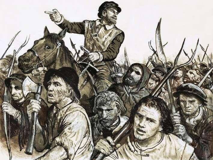 Peasants' Revolt Essay Plan race track style!