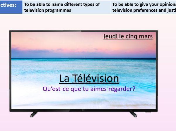 La Télévision - Year 8