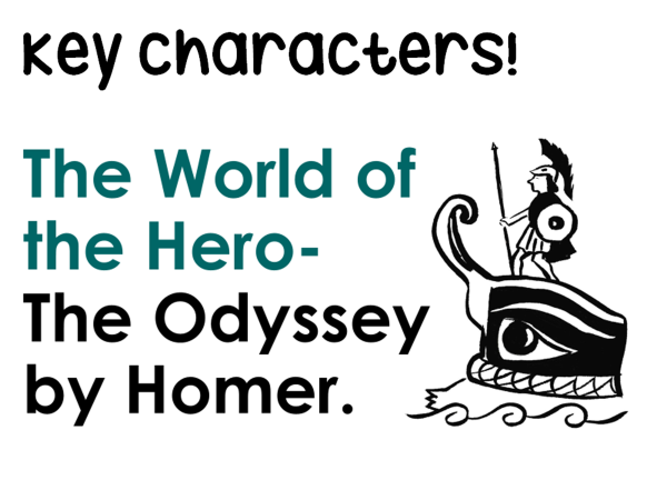GCSE The Odyssey - characters images