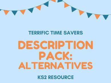Vocabulary - alternatives/synonyms - word mats