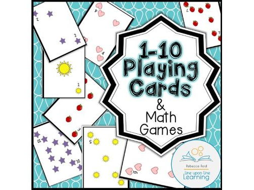 Playing Cards and Math Games