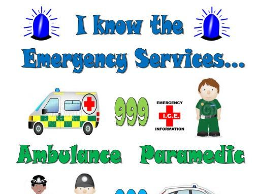 Emergency Services A4 Poster