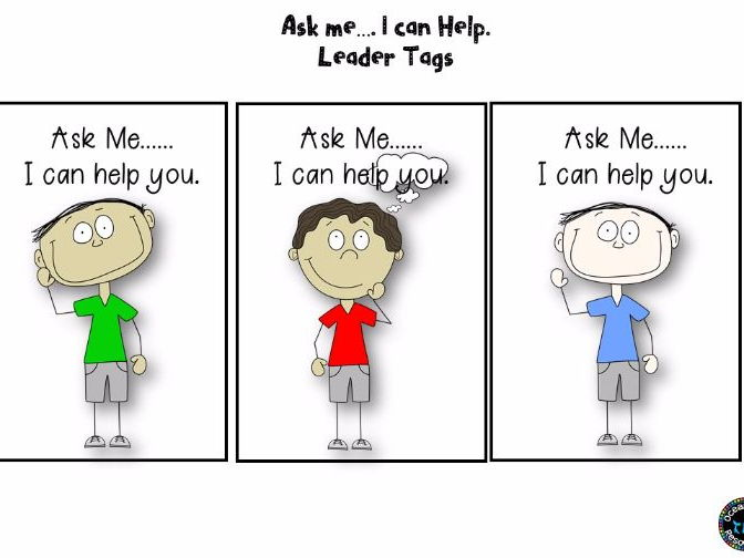Ask Me Tags....Classroom management tool