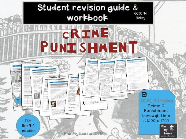 GCSE 9-1 Crime and punishment through time c.1500-c.1700 Revision Guide & Workbook (UNIT 2)