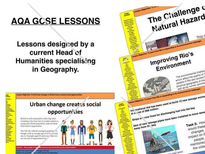 Nigeria Case Study (8 Lessons) - AQA GCSE Geography - The Changing Economic World