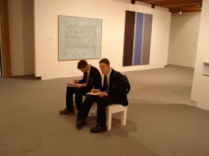BP Portrait Award Show - Art Gallery tasks and follow up Homework