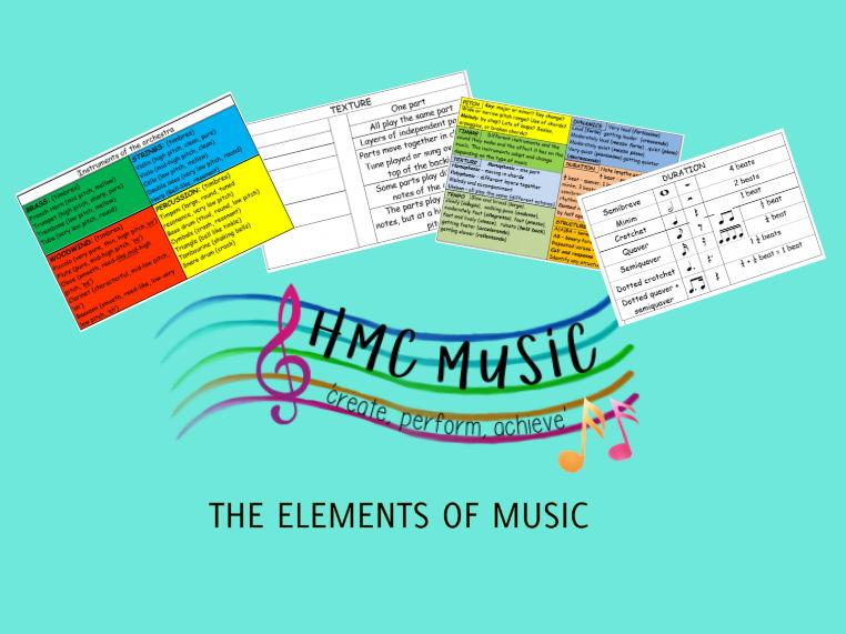 UNDERSTANDING THE ELEMENTS OF MUSIC