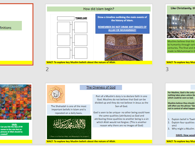 AQA New Specification A: An introduction to Islam