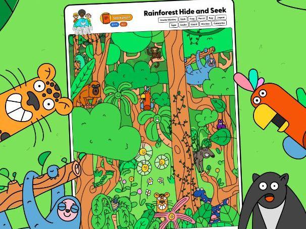Activity - Rainforest Hide and Seek