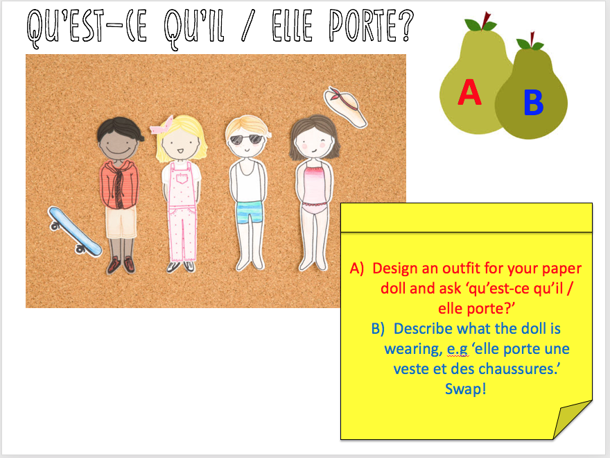 Clothes / Vêtements - Expo 2 Module 3 - Full lesson + homework worksheet