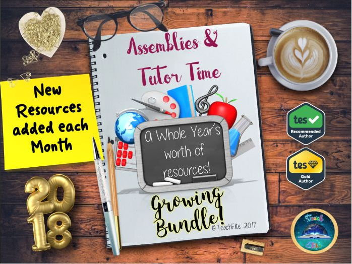 New Year : Assembly & Tutor Time Bundle 2018