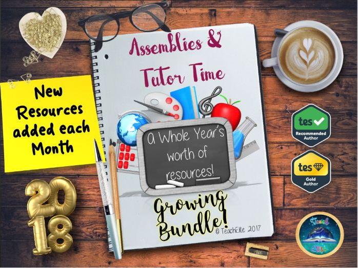 Assembly & Tutor Time Bundle 2018