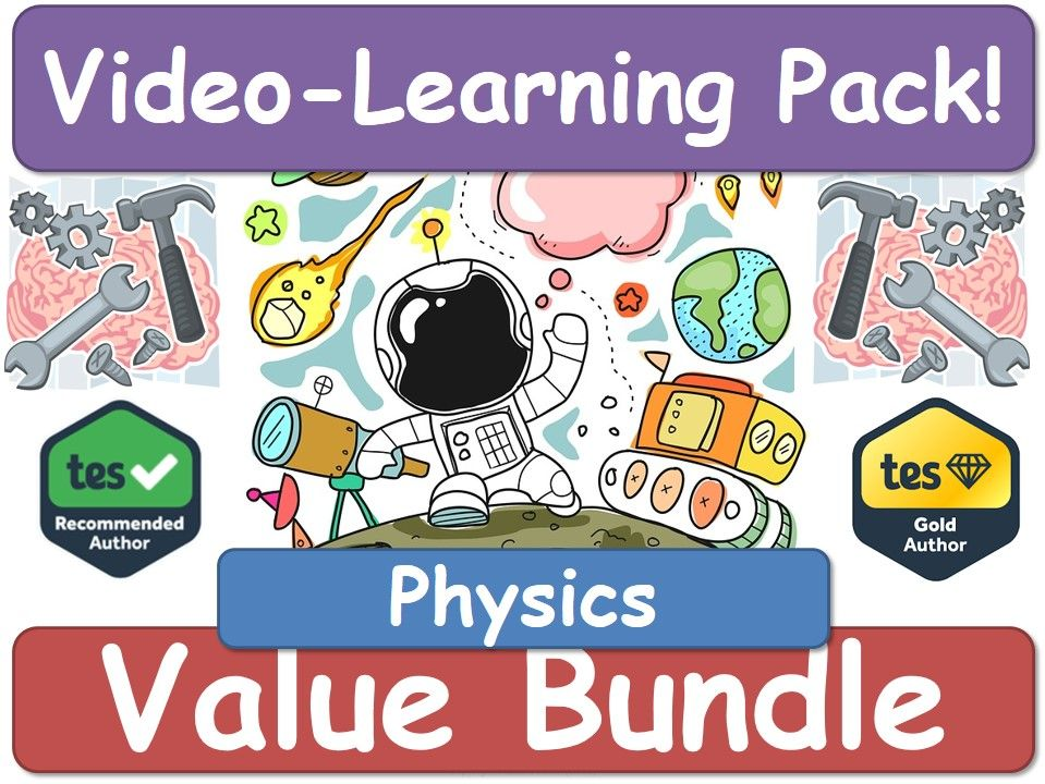 Physics! Physics! Physics! [Video Learning Pack]