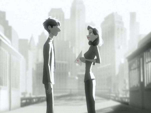 ESL - Based on the Short Film PAPERMAN (by Disney Pixar)