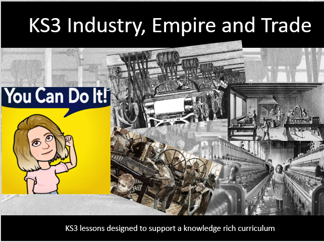 KS3 Industrial Revolution 2. Population growth