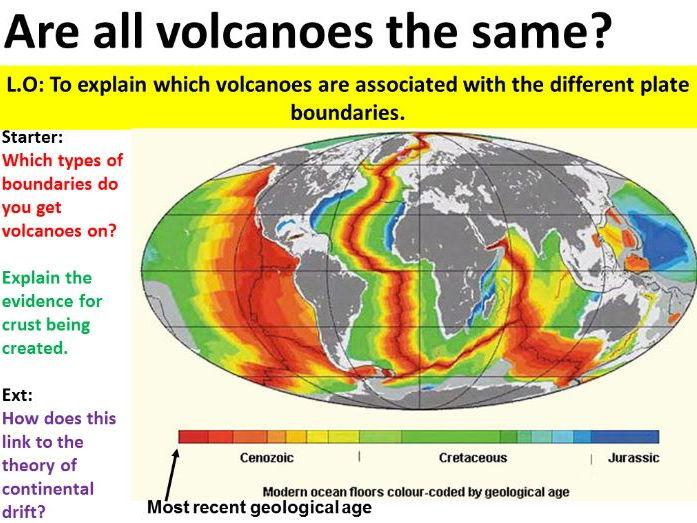 NEW OCR GCSE -Natural Hazards - Volcanoes