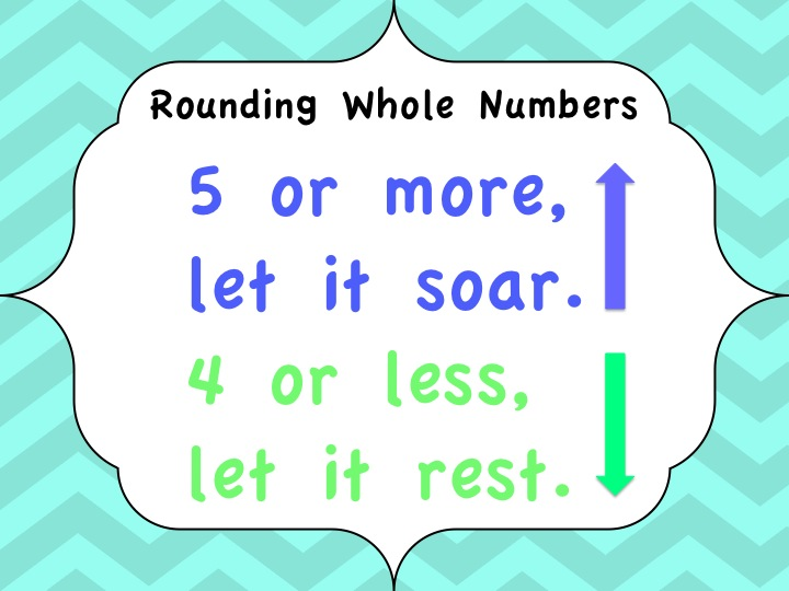 rounding worksheets, activity's and songs