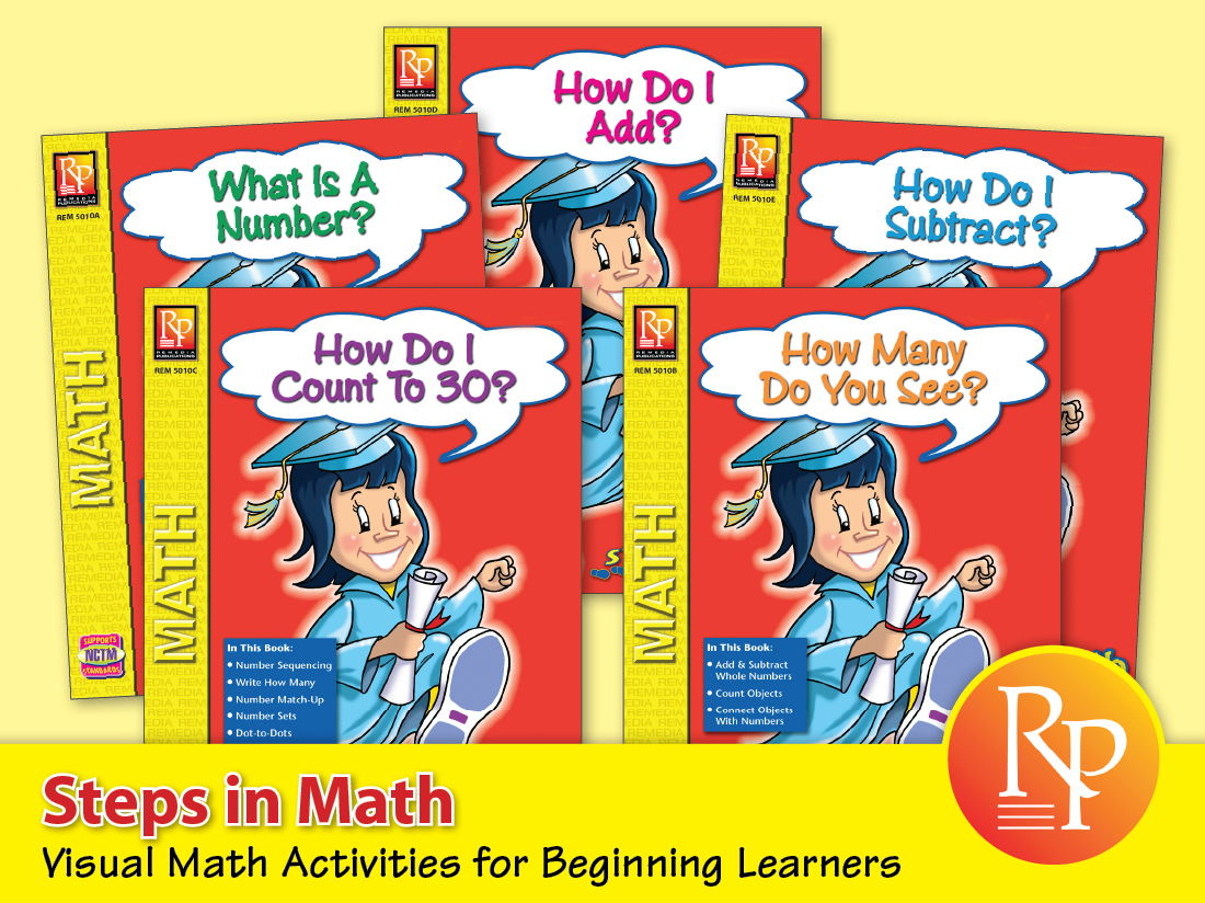 Steps in Math {Bundle}