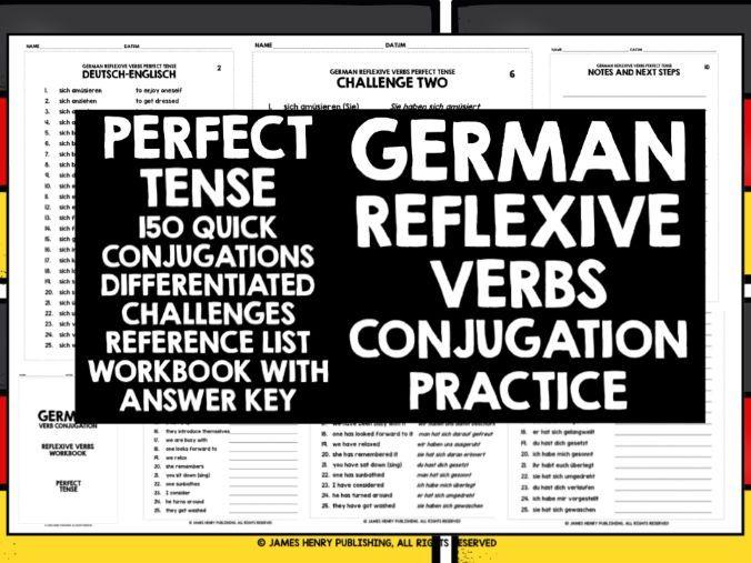 GERMAN REFLEXIVE VERBS CONJUGATION #2