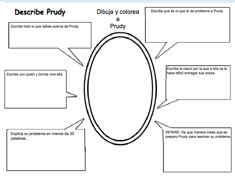 Bilingual Tech PLB on Prudy's Problem and How She Solved It.
