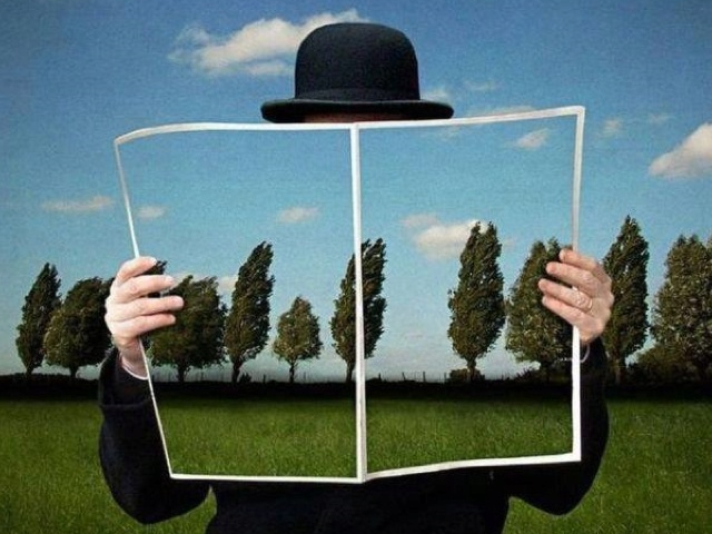 René Magritte for the French class.
