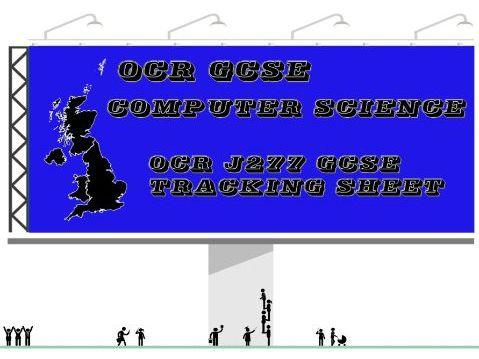 OCR J277 GCSE Tracking Sheet