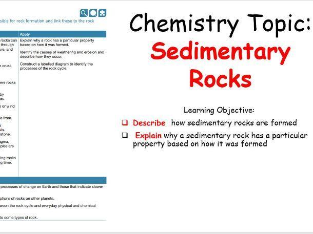 KS3 - Sedimentary Rocks