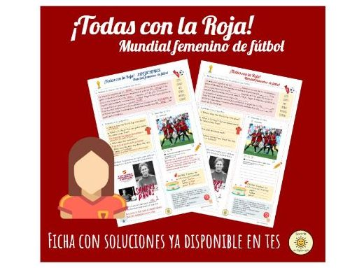 Mundial femenino de fútbol 2019. España. Women's Football World Cup 2019. Spain