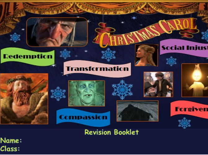 a christmas carol revision booklet by jessomalley
