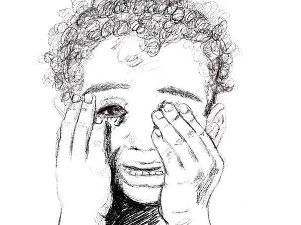 Little Boy Crying Study Bundle