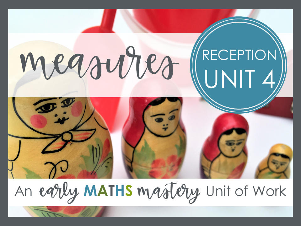 Measures - Reception Maths Mastery Planning