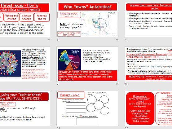 AQA Global Governance - L7 Antarctica Treaty