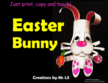 Easter Bunny Craft  ::  Bunny Craft  ::  Easter Craft