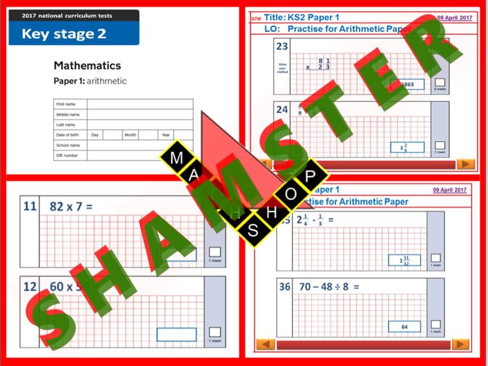 SATs Maths Revision