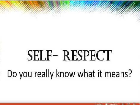 Self-respect Assembly