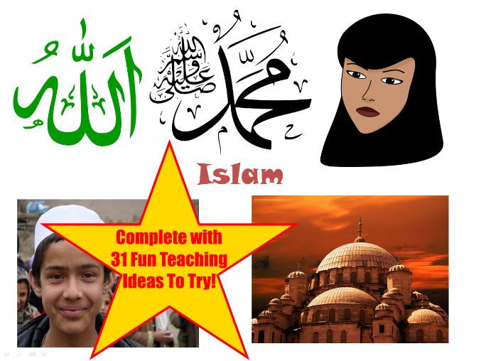 30 Images About Islam PowerPoint Presentation + 31 Fun Teaching Activities To Try With Your Class!