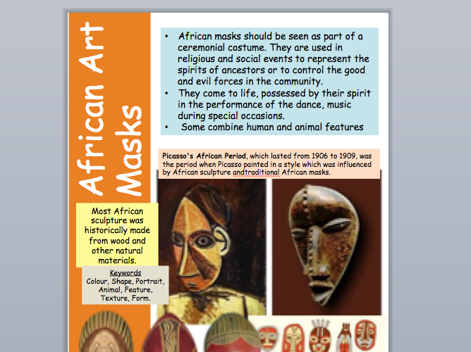 African Art Resource Fact Sheet