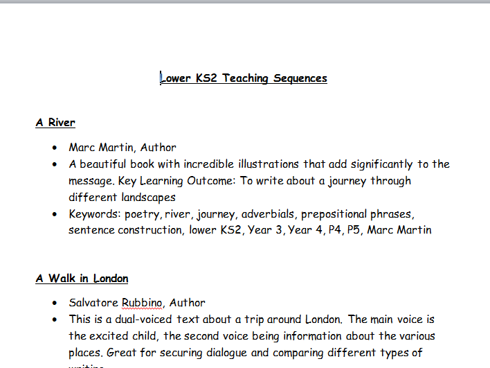 No Nonsense Literacy - LKS2 Teaching Sequences for Writing - Book