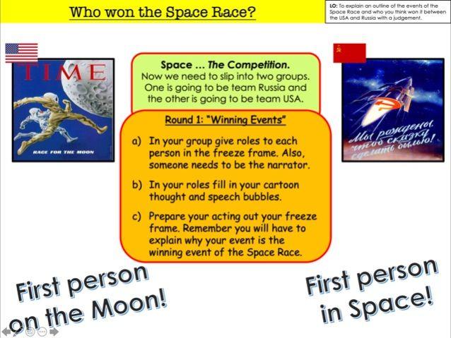 Fun lesson - Space Race