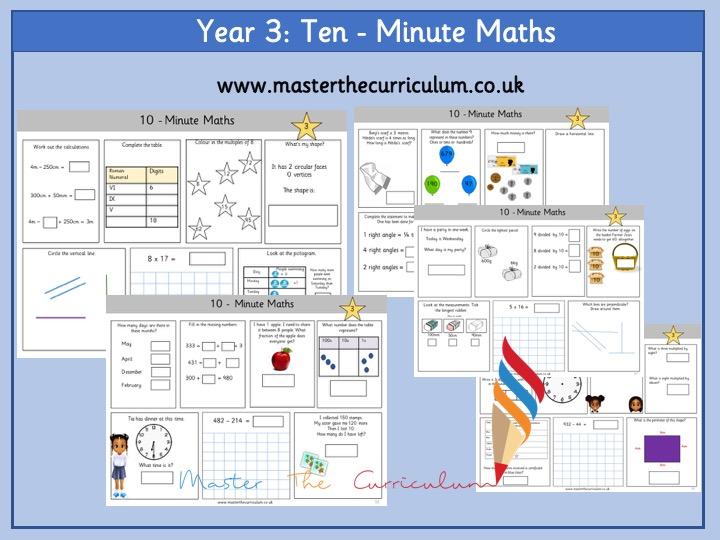 Year 3 - Ten-Minute Maths