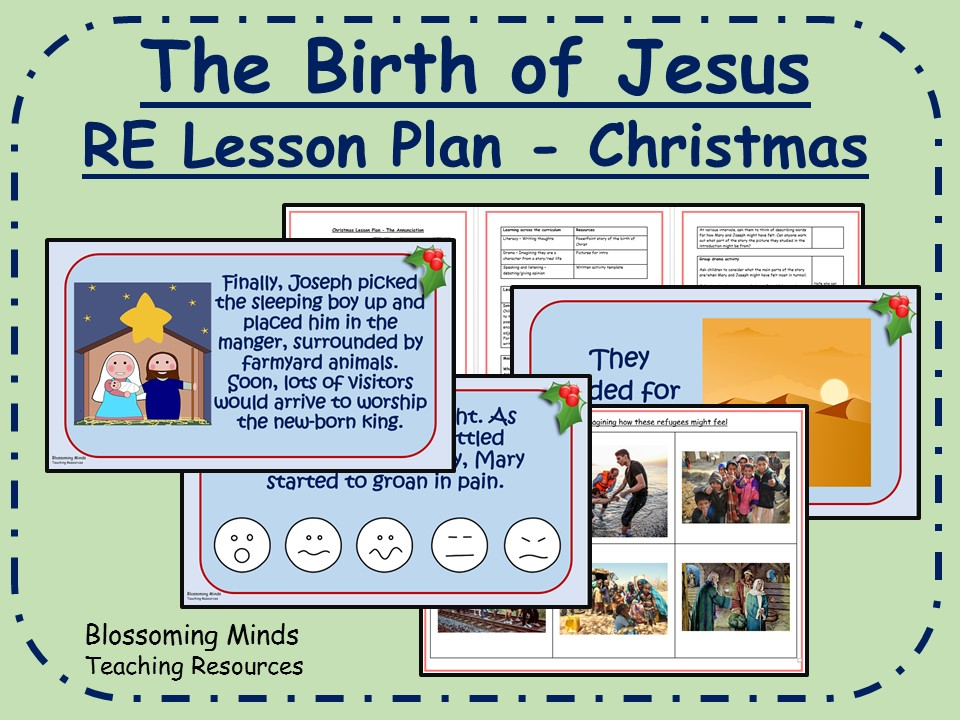 KS2 Christmas RE lesson - The birth of Jesus